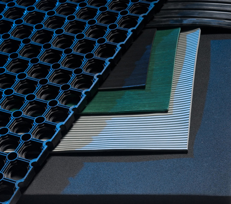 CORRUGATED RUBBER MATTING (RL535)